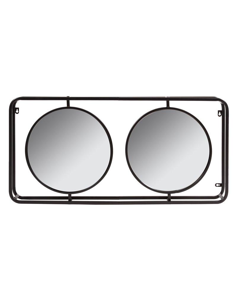 Espejo industrial doble