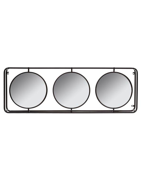 Miroir industriel triple