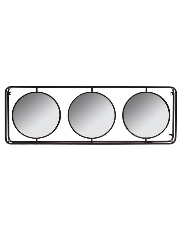 Triple Industrial Mirror