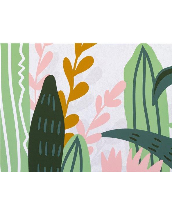 Cuadro plantas cactus