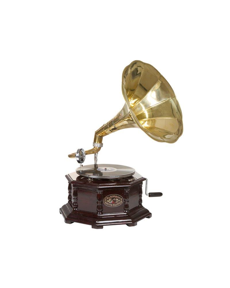 Gramophone octagonal