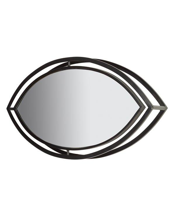 Industriële ovale spiegel