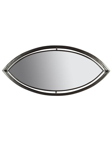 Industrial oval mirror