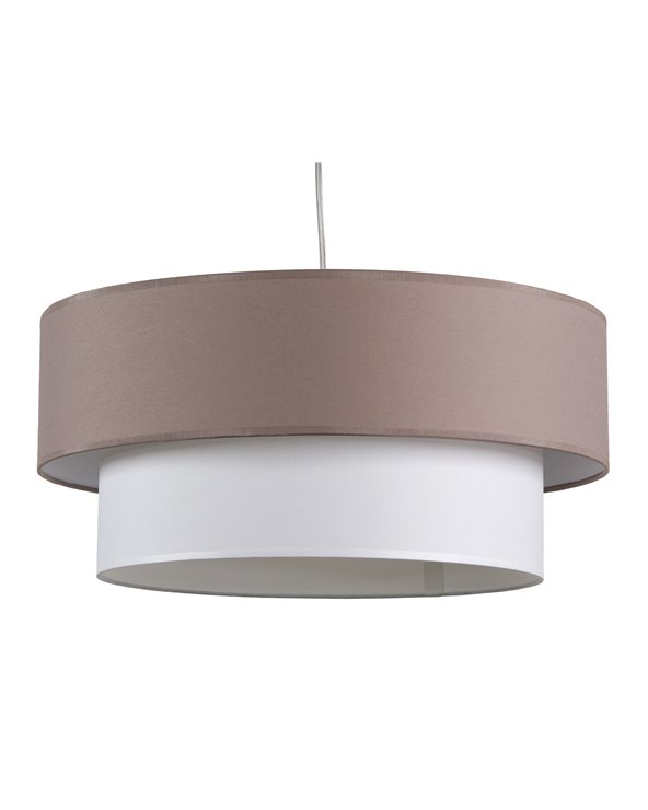 Double sheet ceiling lamp