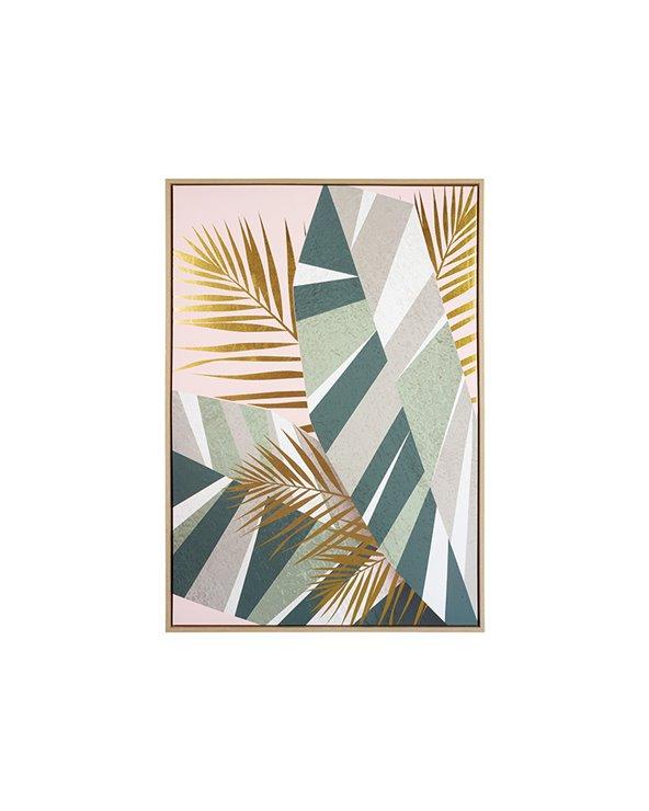 Peinture de plantes tropicales