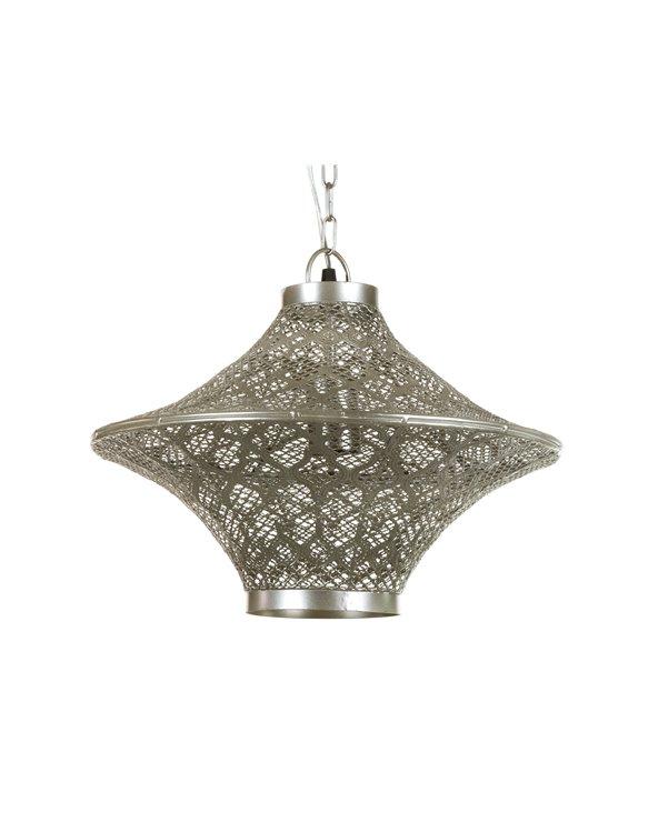 Lámpada metálica de teito
