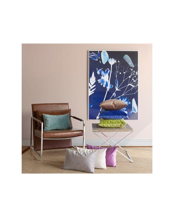 Coixí Velvet marró 45x45 cm
