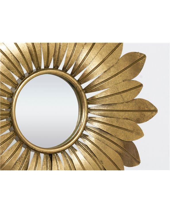 Espejo metal mesa
