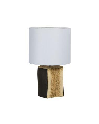 Llum de taula tronc