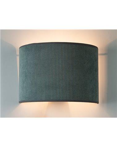 Lámpara aplique de pared Pana verde