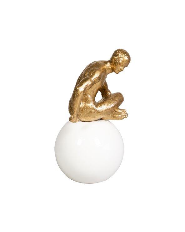 Figura pensador assegut
