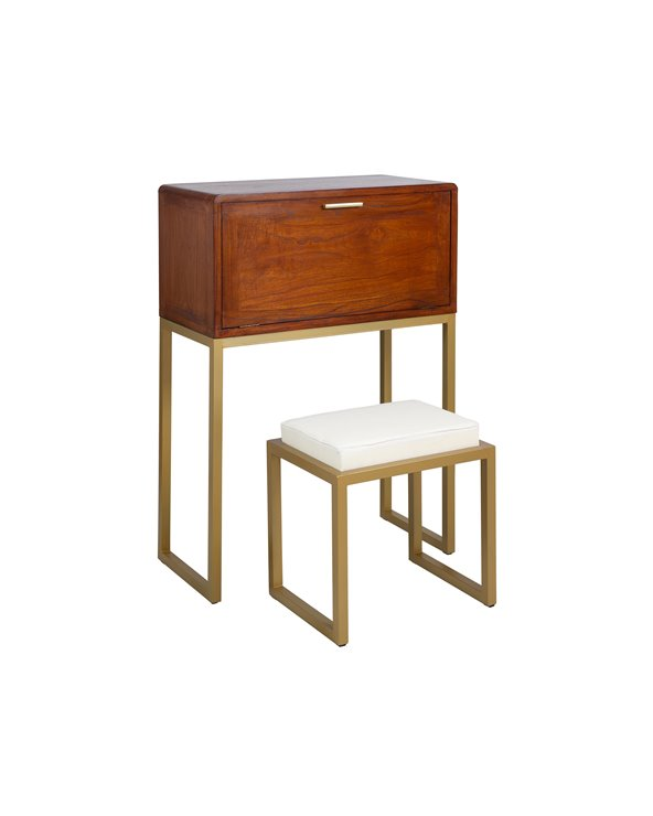 Desk and stool CONTINENTAL