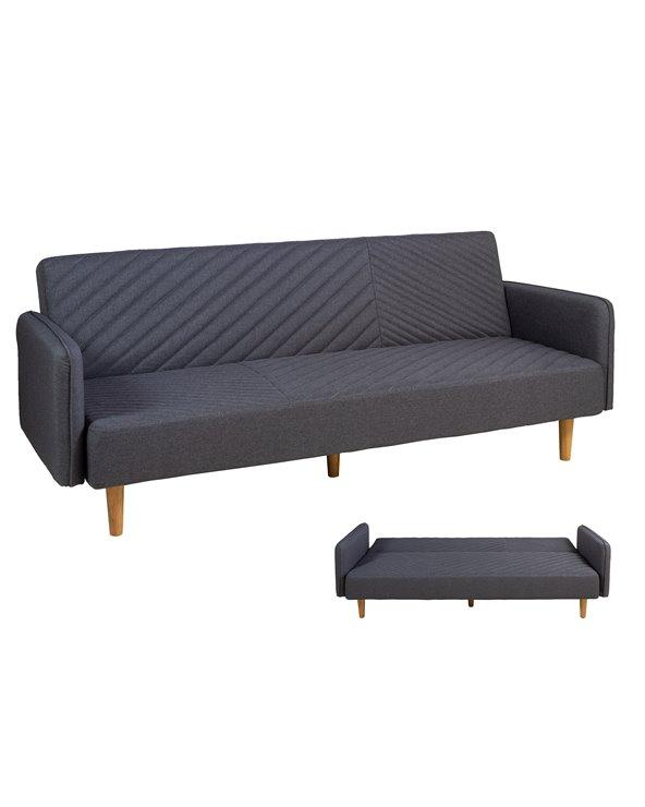 Gray sofa bed LITE