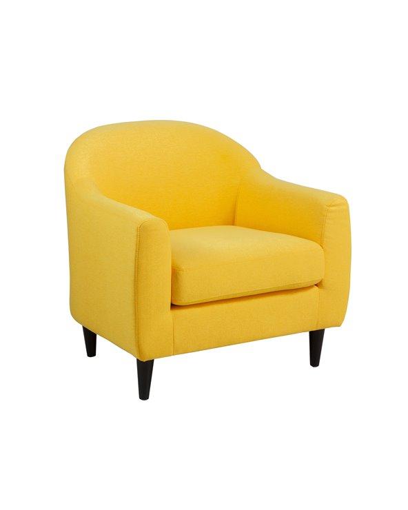 Mustard armchair CAT