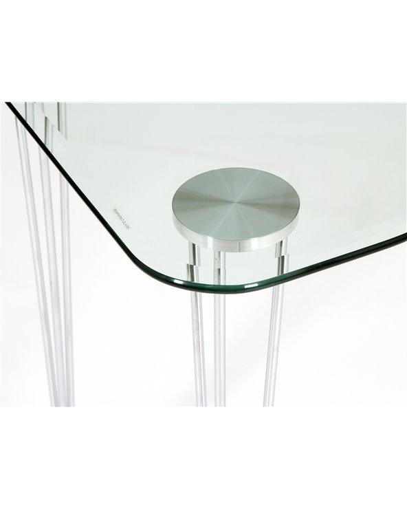 Glass study desk