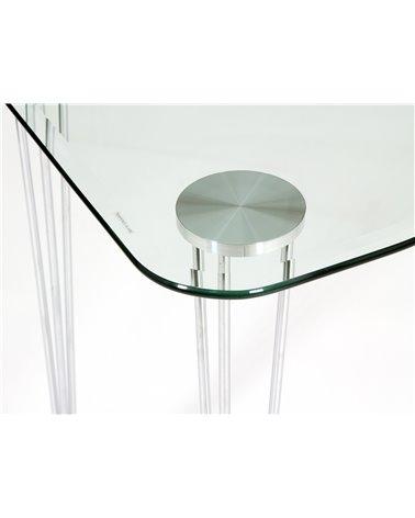 Mesa de estudio / Escritorio de cristal