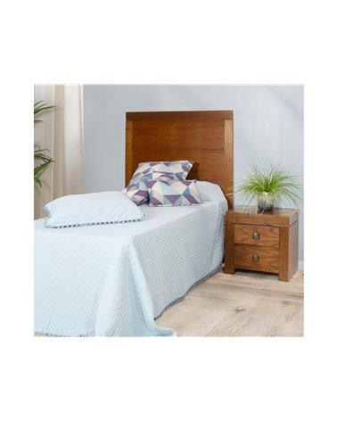 Cabecero cama Nature nogal