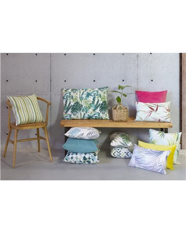 Adan green cushion 50x70 cm