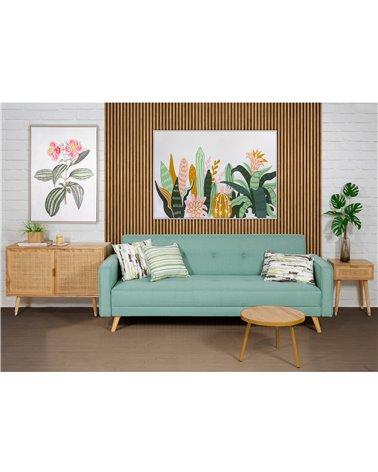 Cojín Roraima verde 45x45 cm