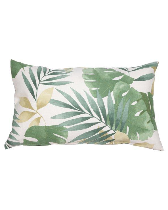 Green Bohemian cushion 30x50 cm