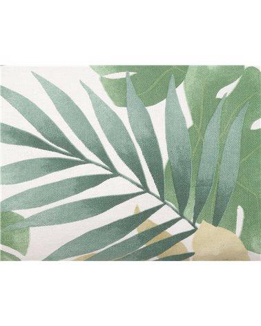 Cojín Bohemian verde 30x50 cm