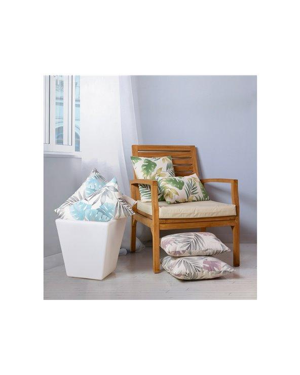Aqua Bohemian cushion 45x45 cm