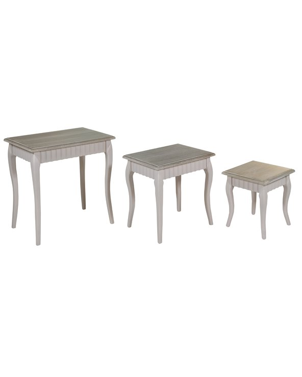 Set of 3 Cora tables