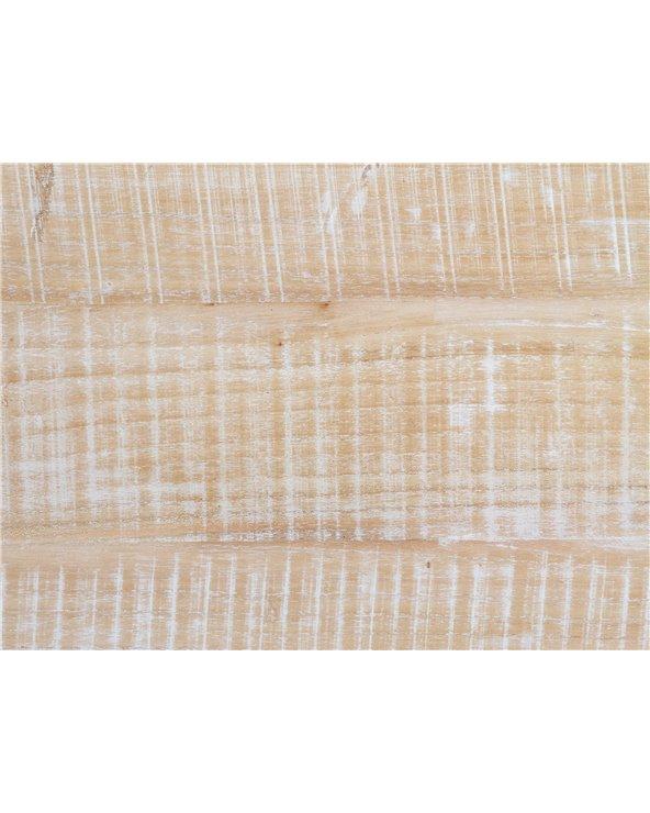 Curvy Wood Headboard