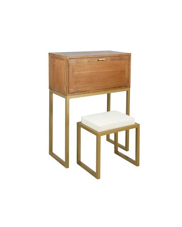 Schreibtisch und Hocker STAY