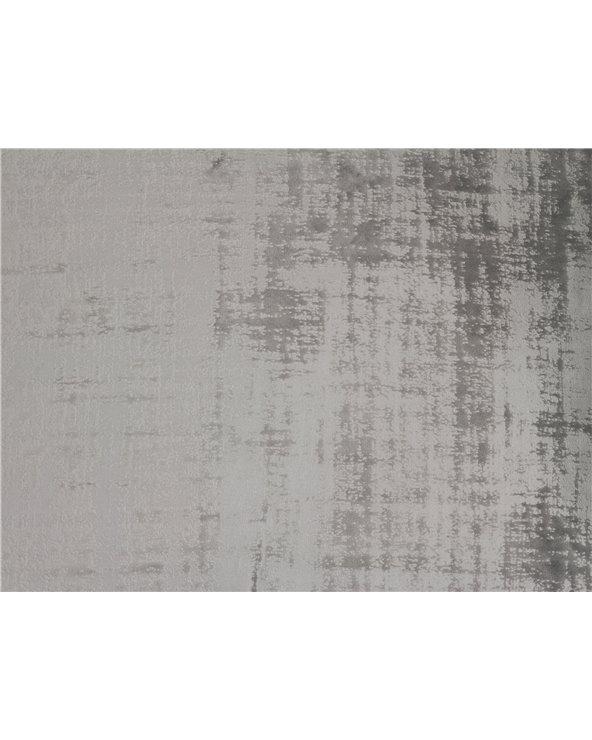 Gray fringe cushion