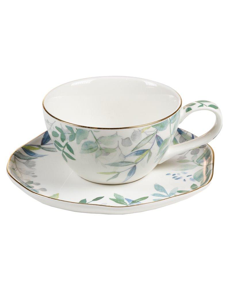 Taza de té con plato Amazonia