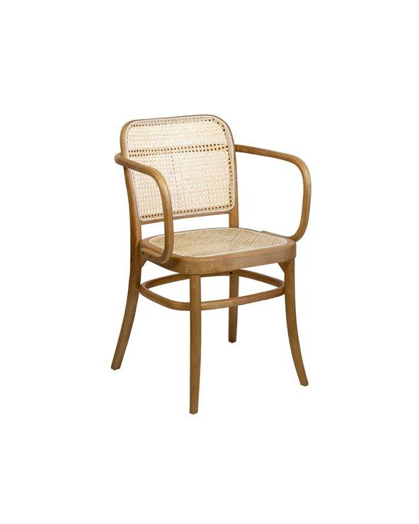 Cadeira de malha com braços