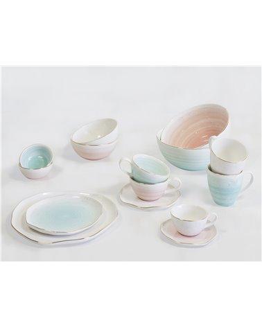 Tassa i plat Col·lecció Artesanal