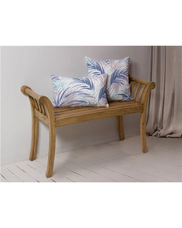 Blue Macapa cushion 30x50 cm
