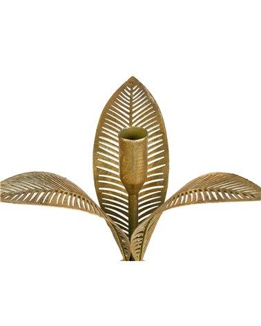 Canelobre flor metall