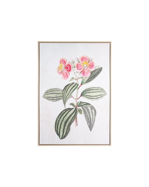 Tekening bloemen schilderij