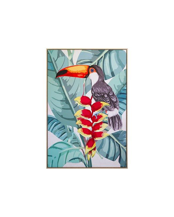 Toucan målning