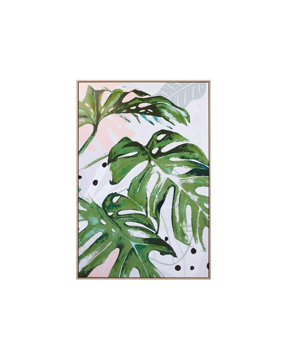 Groen schilderij