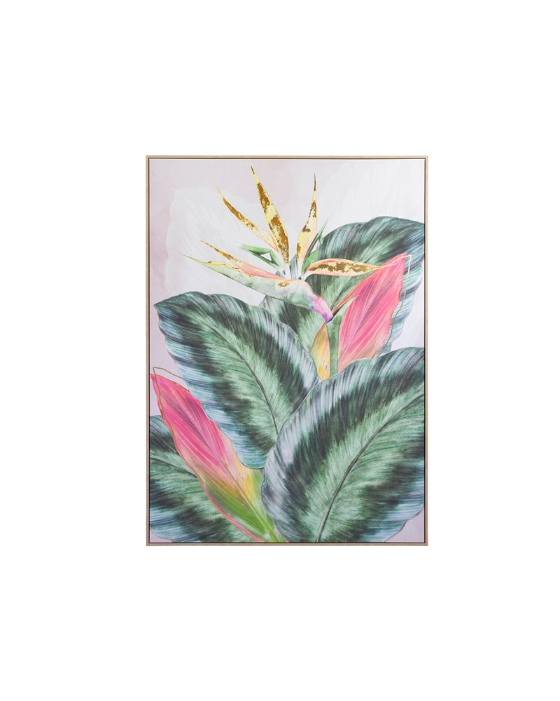 """Bird in paradise"" painting"
