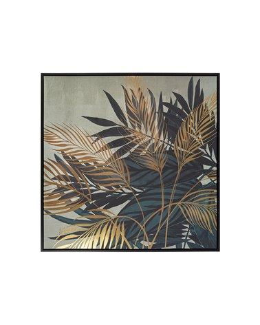 Groene planten schilderij