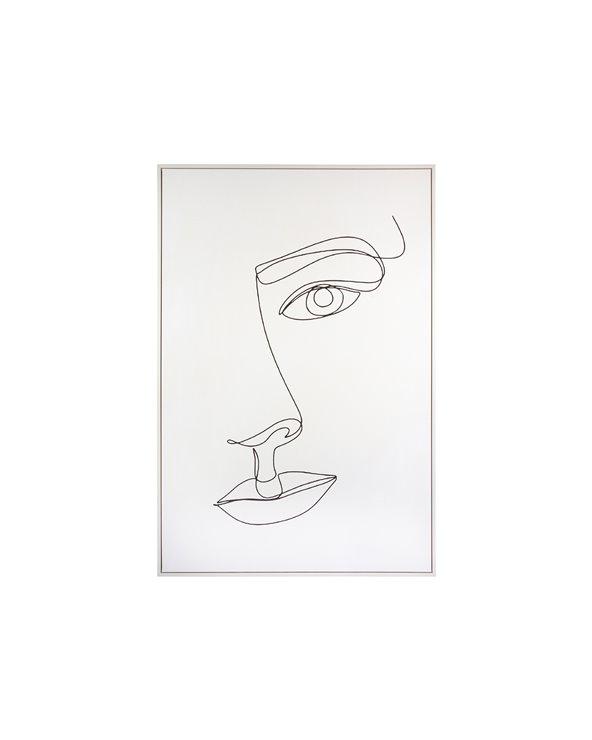 Peinture de visage de femme