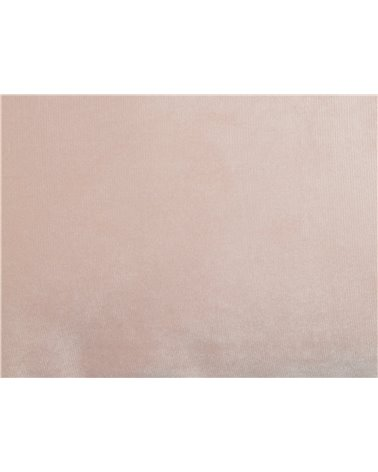 Nude velvet cushion 30x50 cm