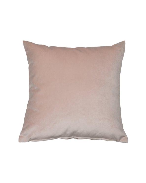Cojín Velvet nude 45x45 cm