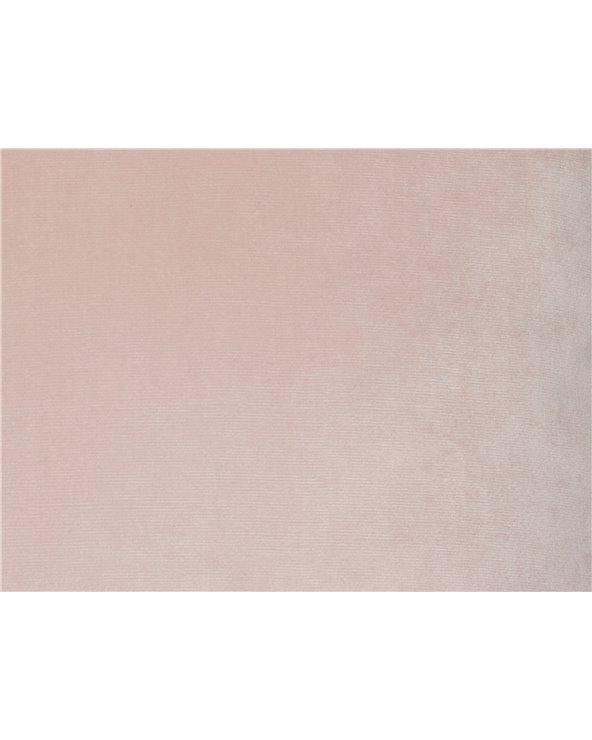 Nude velvet cushion 45x45 cm