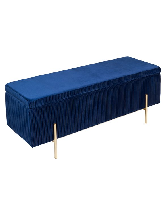Banqueta - Bagul Deco blau