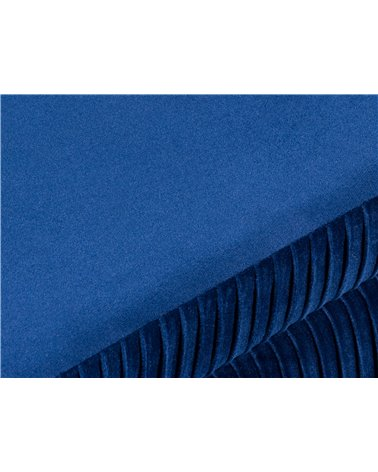 Banqueta - Baúl Deco azul