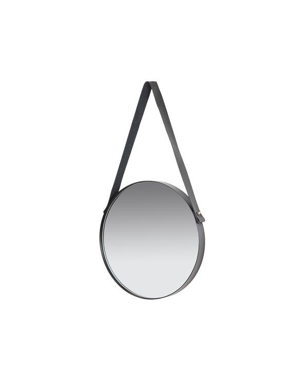 Specchio da parete rotondo in corda