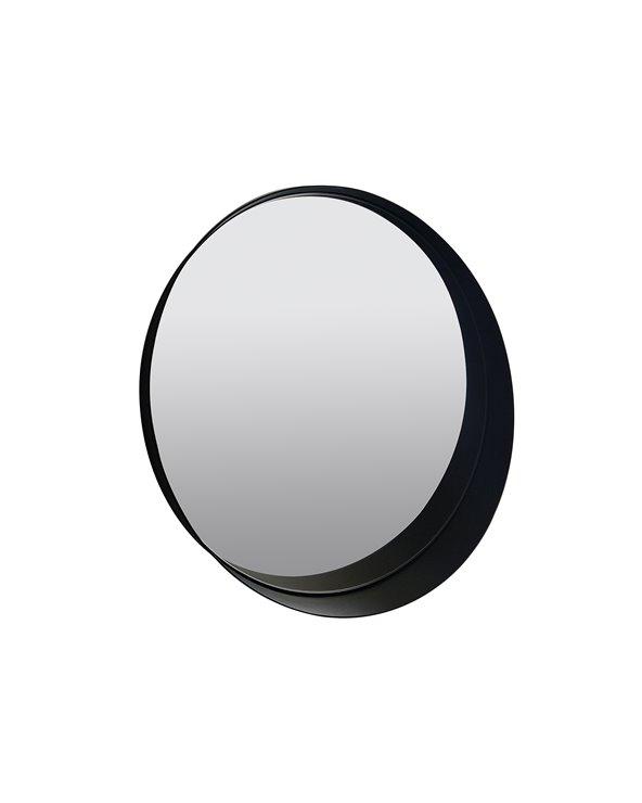 Espejo pared negro