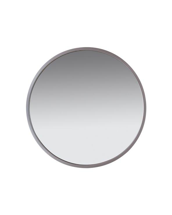 Muur zilveren spiegel