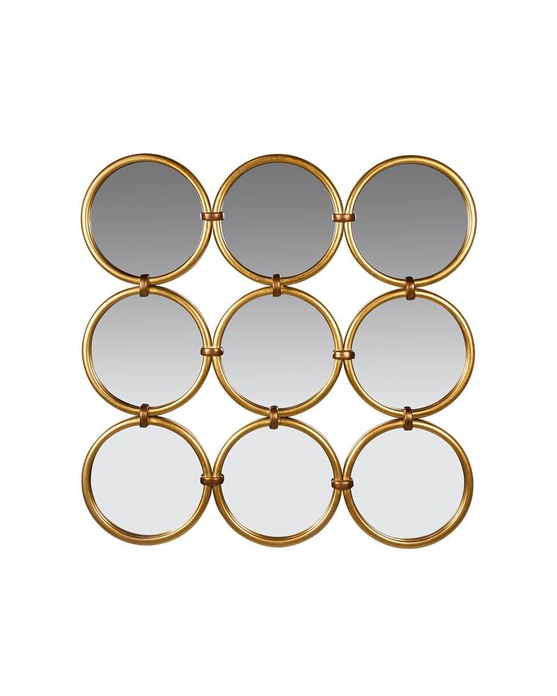 Golden circles mirror
